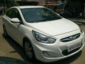 Used Hyundai Verna CRDi 1.6 SX MT car at low price