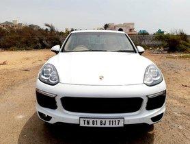 Used Porsche Cayenne Diesel Platinum Edition AT 2015 for sale