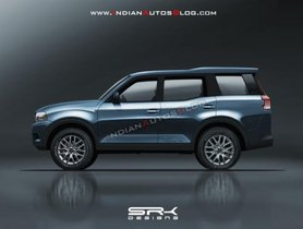 Next-gen Mahindra Scorpio Rendered With A Futuristic Look