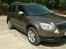 Used Skoda Yeti Ambition 4WD MT 2011 for sale