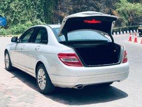 Used Mercedes Benz C-Class C 200 Kompressor Elegance AT car at low price
