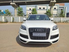 Used Audi Q7 car 2013 for sale  at low price