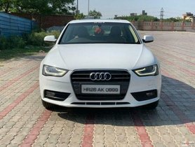 Used Audi A4 2.0 TDI Multitronic AT car at low price