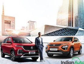 MG Hector Vs Tata Harrier- How These Cars Fare Against Each Other In The Playground?