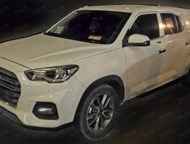Upcoming seven-seater Hyundai Tucson SUV spotted again