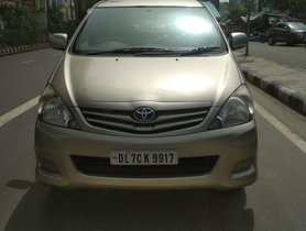 Used 2011 Toyota Innova G3 Diesel MT At low price