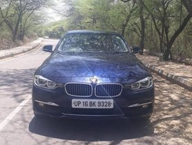 2016 BMW 3 Series 320d Luxury Line AT for sale at low price