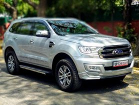 2016 Ford Endeavour 3.2 Titanium AT 4X4 for sale at low price