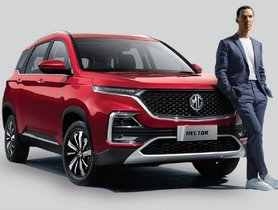 MG Hector To Be Exported To Other Market in Later Stage