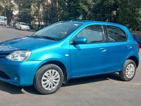 Used Toyota Etios Liva GD MT car at low price