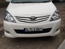2010 Toyota Innova 2.5 Diesel MT for sale in New Delhi