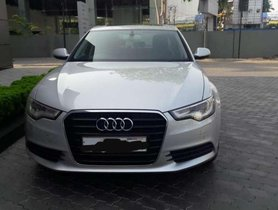 2012 Audi A6 for sale at low price