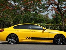 Used BMW 6 Series  640d Gran Coupe AT car at low price