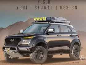 Hyundai Venue Off-road Rendering Version Looks Impressive