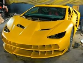 The Honda Civic Has Been Skillfully Modified To Become A Lamborghini Centenario [Video]