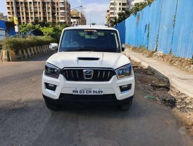 Used Mahindra Scorpio car 2017 MT for sale  at low price