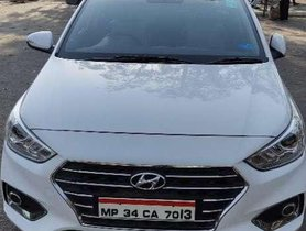 Used Hyundai Verna car 2018 1.6 CRDi SX MT at low price