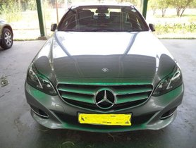 2015 Mercedes Benz E Class AT for sale