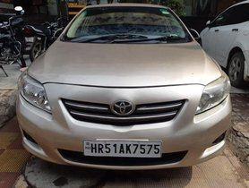 Used Toyota Corolla Altis G MT 2010 for sale