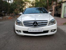 2011 Mercedes Benz C-Class C 250 CDI Elegance AT for sale at low price
