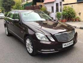 2011 Mercedes Benz E Class AT for sale at low price