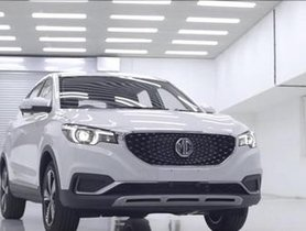 First Prototype of MG eZS Rolls Out from Gujarat Plant