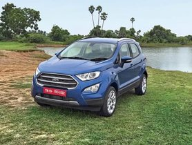 Ford EcoSport To Be Powered By Mahindra's 1.2-Litre Turbo Petrol Motor