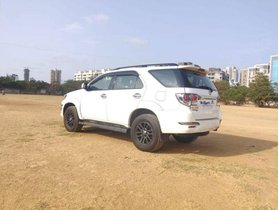 Used Toyota Fortuner 4x4 MT 2015 for sale
