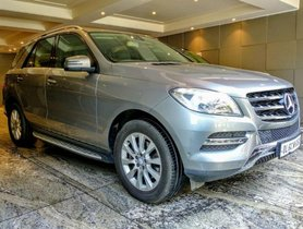 Used Mercedes Benz M Class ML 250 CDI AT 2014 for sale