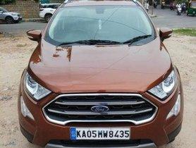 Used Ford EcoSport  1.5 TDCi Titanium Plus BE MT car at low price
