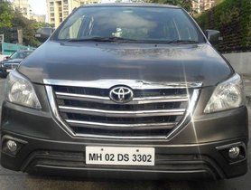Used Toyota Innova 2.5 Z Diesel 7 Seater BS IV MT 2014 for sale
