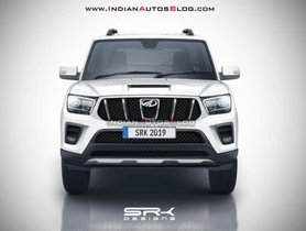 Is This How The 2020 Mahindra Scorpio Would Look Like?