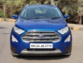 Ford EcoSport 1.5 TDCi Titanium Plus MT 2017 for sale
