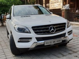 Used Mercedes Benz M Class ML 250 CDI AT 2015 for sale