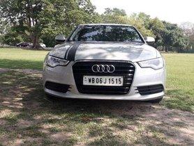 2012 Audi A6  2.0 TDI Premium Plus AT for sale at low price