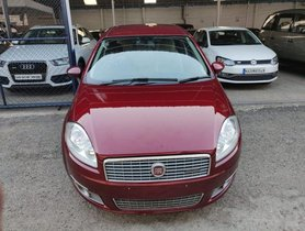 Used Fiat Linea Emotion MT car at low price