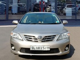 Used Toyota Corolla Altis G MT car at low price