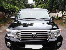 Used Toyota Land Cruiser VX AT car at low price