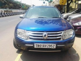 Used Renault Duster car 2013 MT at low price