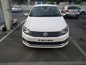Used Volkswagen Vento car 2017 MT for sale at low price
