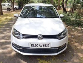 Used Volkswagen Polo car 2016 MT for sale at low price