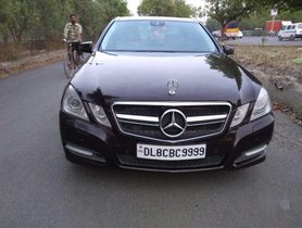 2012 Mercedes Benz E Class AT for sale