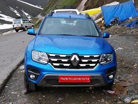 2019 Renault Duster (Facelift) Spied Undisguised For The First Time Ever