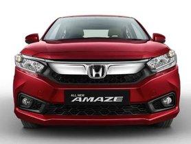 Honda Amaze Records 6,000 Sales In May 2019