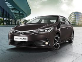 Toyota Corolla Altis Sales Dropped By 49% In May 2019