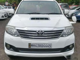 Used Toyota Fortuner car 4x2 AT at low price