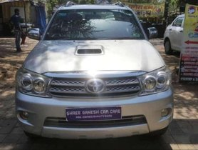Used Toyota Fortuner car  4x4 MT MT at low price