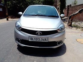 2017 Tata Tiago 1/05 Revotorq XZ Petrol MT for sale in New Delhi