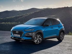 Europe-spec Hyundai Kona Hybrid Revealed