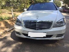 Used Mercedes Benz S Class car AT at low price